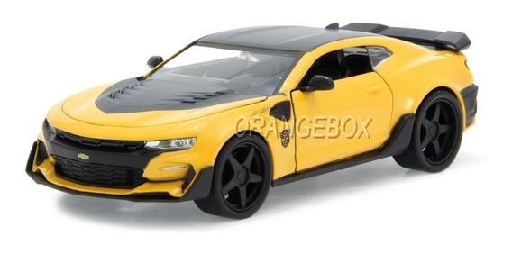 Camaro 2016 Bumblebee Transformers 5 Jada Toys 1:24 Amarelo