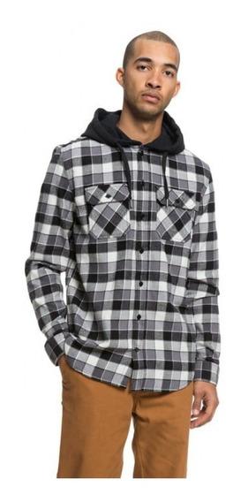Dc Camisa M/l Lifestyle Hombre Runnels Negro Fkr