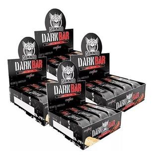 Combo Kit 4x Dark Whey Bar Darkness Integralmedica Promoçã0