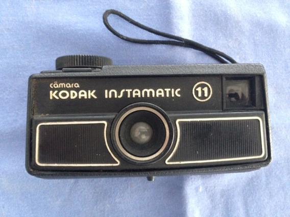 Camera Fotografica Antiga Kodak Instamatic 11