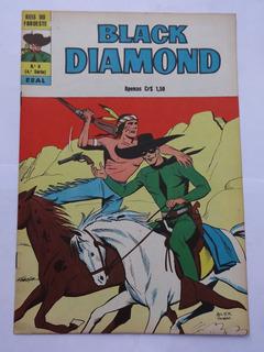 Black Diamond Nº 8: Pantera-cinzenta - Ebal - 1975 - Hq