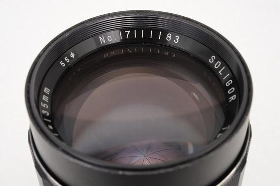 Lente Soligor 135mm F2.8 Nikon/sony Nex Raridade