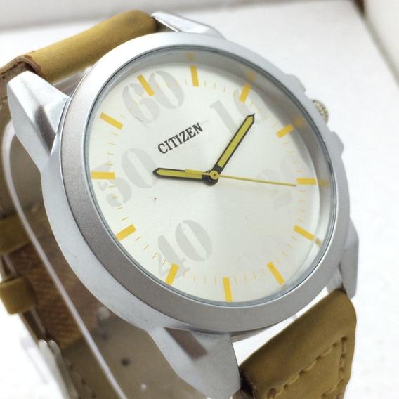 Relógio Masc Citizen 44mm Quartzo Japão Miyota 2030