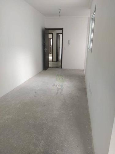 Imagem 1 de 13 de Apartamento Com 2 Dormitórios À Venda, 50 M² Por R$ 365.000,00 - Campestre - Santo André/sp - Ap1459