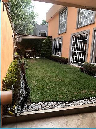 Imagen 1 de 25 de Casa En Venta En Cuajimalpa, 3 Rec, 4 Baños, Jardín