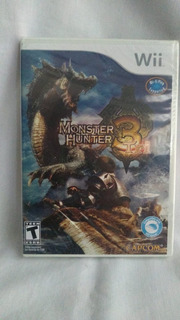 Monster Hunter Tri - Nuevo Y Sellado - Wii