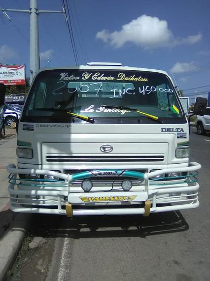 Camion Daihatsu De Oportunidad Cara Ancha Cama Larga 2007