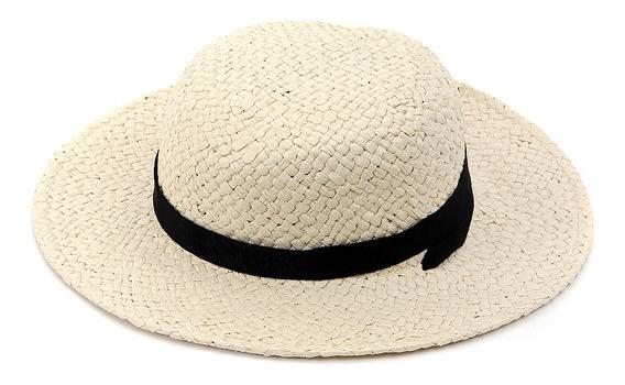 Sombrero De Niñas C&a Con Listón Básico