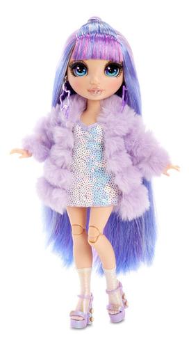 Imagem 1 de 8 de Boneca Rainbow High Fashion Violet Willon Meninas