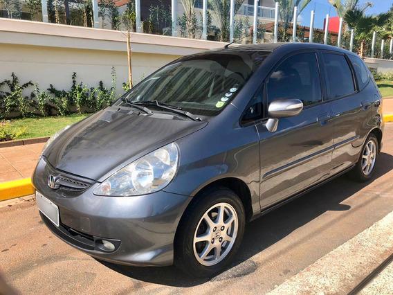 Honda Fit Ex 2008 1.5 Automárico, Top De Linha.