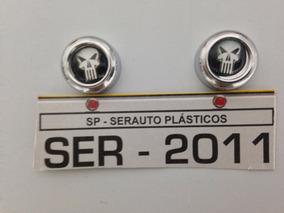 Capa De Parafuso Placa Moto Harley Caveira Skull T3at