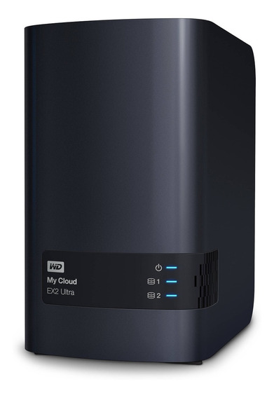 Servidor Storage Nas Wd My Cloud Expert Ex2 Ultra Ate 16tb