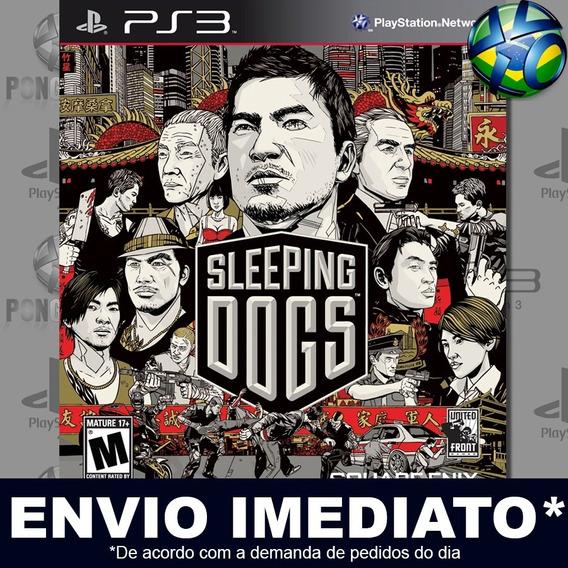 Sleeping Dogs Ps3 Psn Jogo Em Promoção A Pronta Entrega