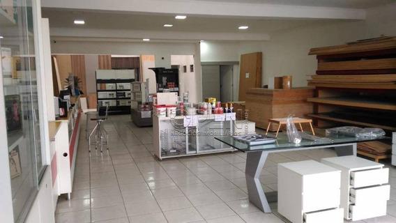 Salão Para Alugar, 231 M² Por R$ 6.700,00/mês - Paraíso - Santo André/sp - Sl0158