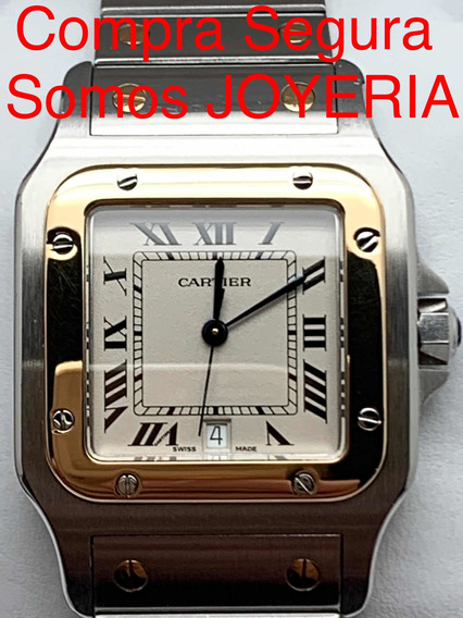 Cartier 49mil Santos Oro Y Acero Con Papeles Certificado Etc