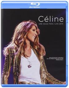 Celine Dion - Une Seule Fois - Blu Ray + 2 Cds, Lacrado