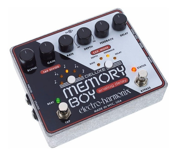 Pedal Ehx Deluxe Memory Boy Tap Temp Analog Delay