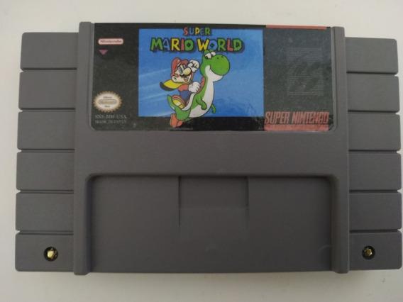 Super Mario World Português Salvando Super Nintendo Snes
