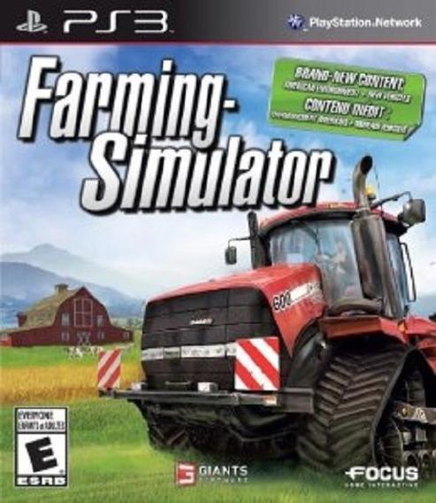 Farming Simulator - Ps3 - Envio Hoje