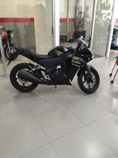 Cbr 250 Negra Honda Insurgentes Deportiva