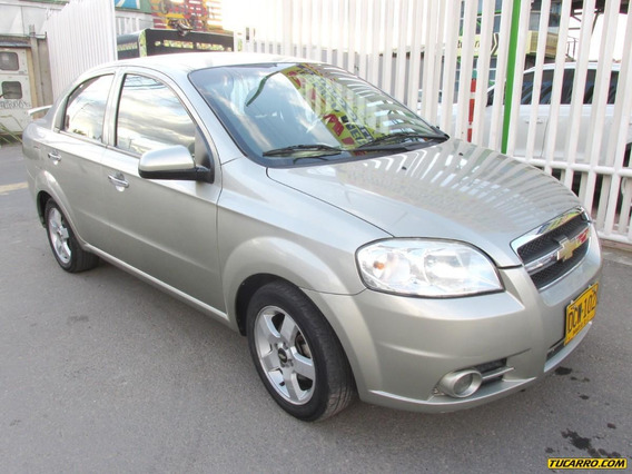 Chevrolet Aveo Emotion 1.6 Mt Aa Fe