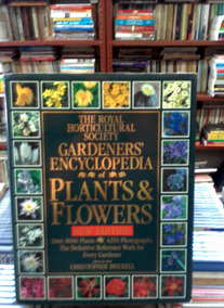 The Royal Horticultural Society Gardeners Enc Plants E Flowe
