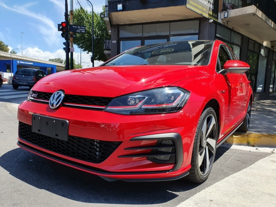 Volkswagen Golf Gti 2.0 Tsi Año 2019 Rojo As Automobili