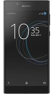 Smartphone Sony Xperia L1 Dual Preto Tela 5.5 Android N Câ