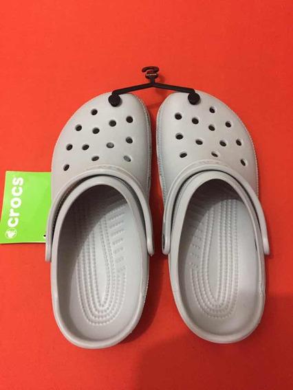 Crocs Cinza 40 Nova Original