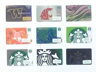 Tarjetas Starbucks Edicion Especial Año Chino Universidades