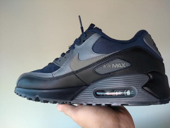 Tenis Masculino Nike Air Max 90 Azul 537384-426 Novo Tam 40