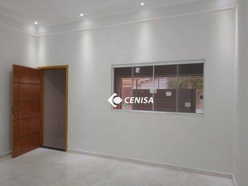 Imagem 1 de 30 de Casa Com 3 Dormitórios À Venda, 110 M² Por R$ 470.000,00 - Vila Castelo Branco - Indaiatuba/sp - Ca2737