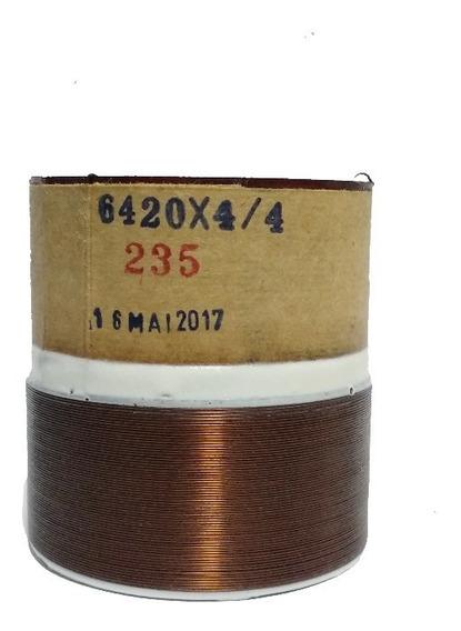 Bobina 64 20/4+4/70 P/ Alto-falante Bravox Uxp Peito De Moça