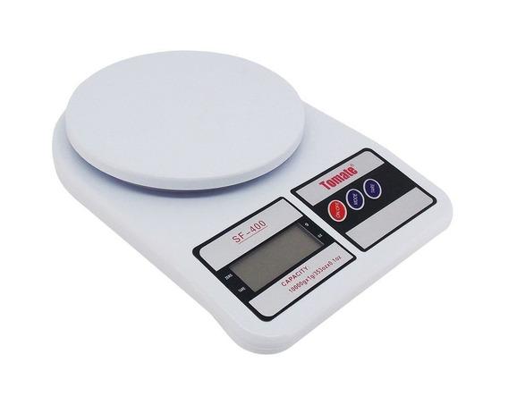 Balança Digital De Cozinha Capacidade 10kg Tomate 6 Unidades