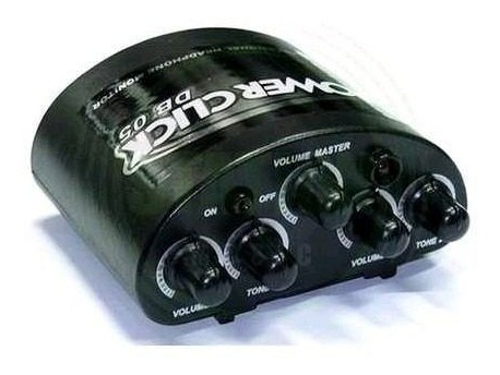 Amplificador De Fone Ouvido Power Click Db 05s Powerclick