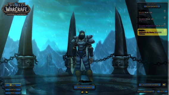 Conta World Of Warcraft Blizzard Battle.net