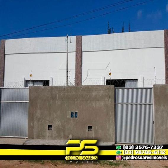Galpão Para Alugar, 350 M² Por R$ 2.200/mês - Cabedelo - Cabedelo/pb - Ga0036