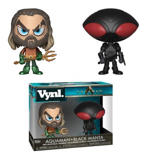 Funko Vynl - Aquaman Y Black Manta 2 Pack - Aquaman Original