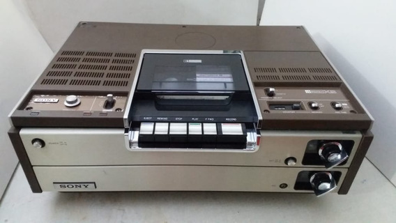Vídeo Cassete Sony Betamax Sl-8200 Perfeito Funcionamento