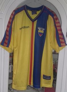 Jersey Sleccion De Ecuador Año 2001 Talla L Grande