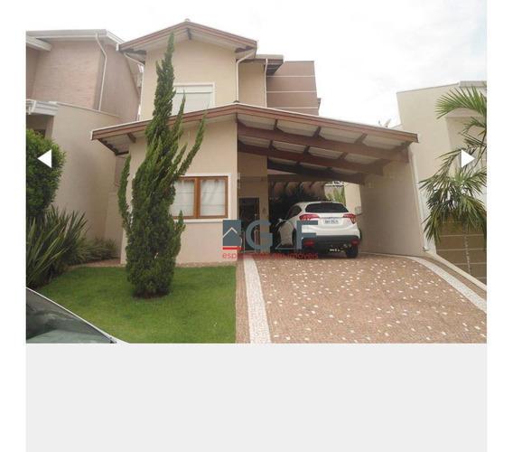 Casa Com 3 Dormitórios À Venda, 162 M² Por R$ 1.100.000 - Fazenda Santa Cândida - Campinas/sp - Ca6581