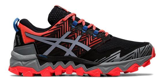 Zapatillas Asics Gel Fuji Trabuco 8 Negro Mujer - Trail Run