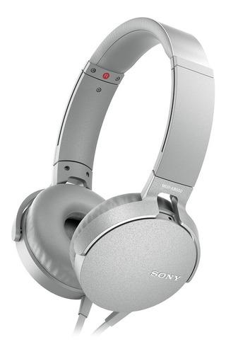 Audífonos Sony Extra Bass Xb550ap Gris