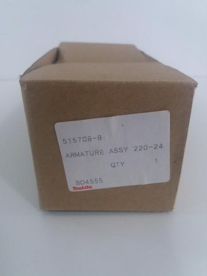 Induzido 220v Makita Lixadeira Bo4555 / Bo4556 515708-8