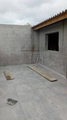 Cobertura À Venda, 124 M² Por R$ 430.000,00 - Vila América - Santo André/sp - Co4656