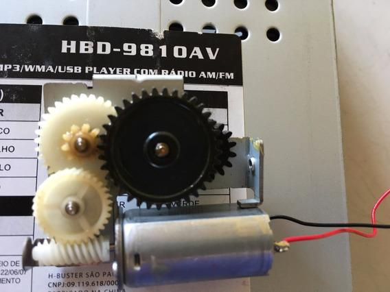 Engrenagens Motor 100% Original Da Tela H-buster Hbd-9810av