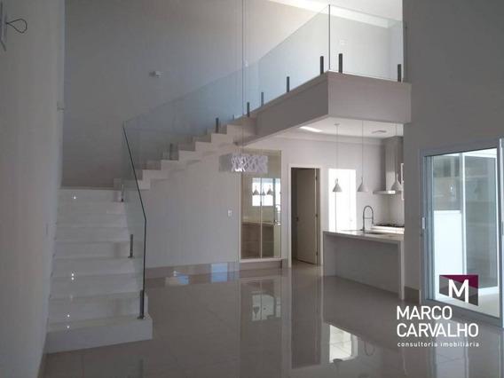 Casa À Venda Por R$ 1.150.000,00 - Parque Das Esmeraldas Ii - Marília/sp - Ca0426