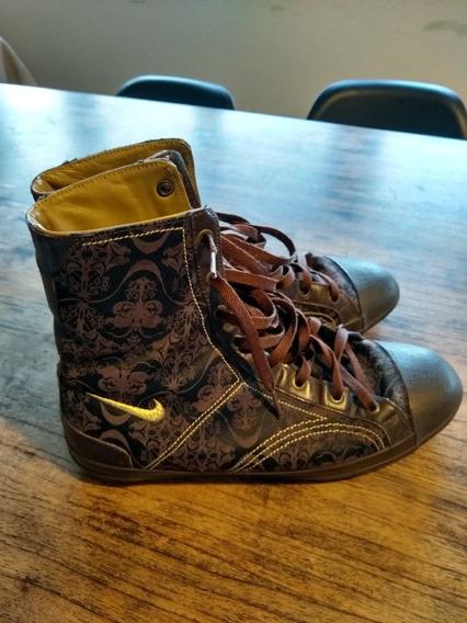 Zapatillas Nike - Cuero - Botitas Súper Cómodas