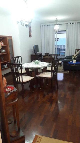 Apartamento Com 2 Dormitórios Sendo 1 Suíte Para Alugar, 106 M² Por R$ 950/mês - Edifício Itália, Santa Cruz - Rio Claro/sp - Ap0126