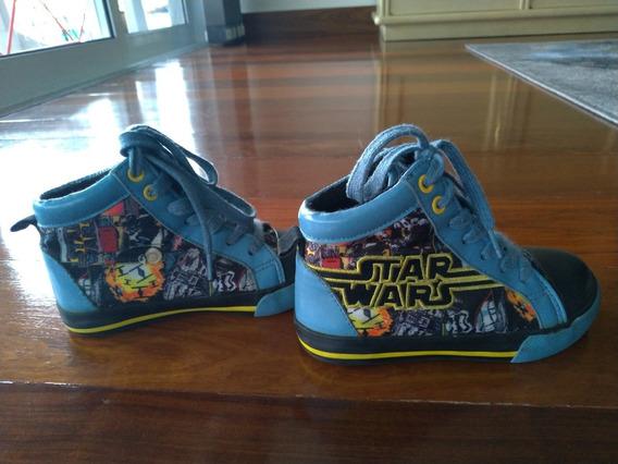 Tênis Infantil Disney Star Wars Original Tamanho 26